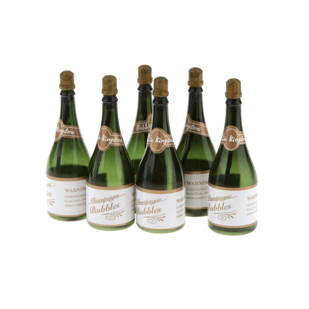 New Hot 24Pcs Mini Champagne Bubbles Bottle Wedding Party Favors ...