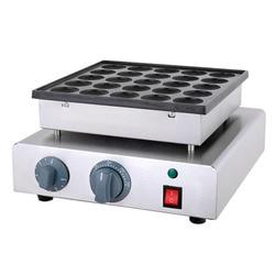 2018 Electric 110v 220v 25 Holes Poffertjes Grill Dutch Waffle Maker Mini Pancake Machine