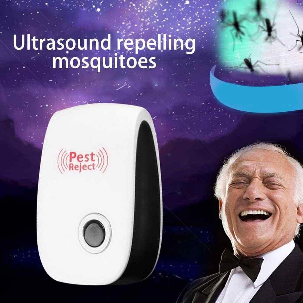 Baru Ultrasonic Hama Menolak Repeller Control Nyamuk Tikus Kutu Serangga Laba-laba Anti Tikus Kecoa Nyamuk Serangga Pembunuh