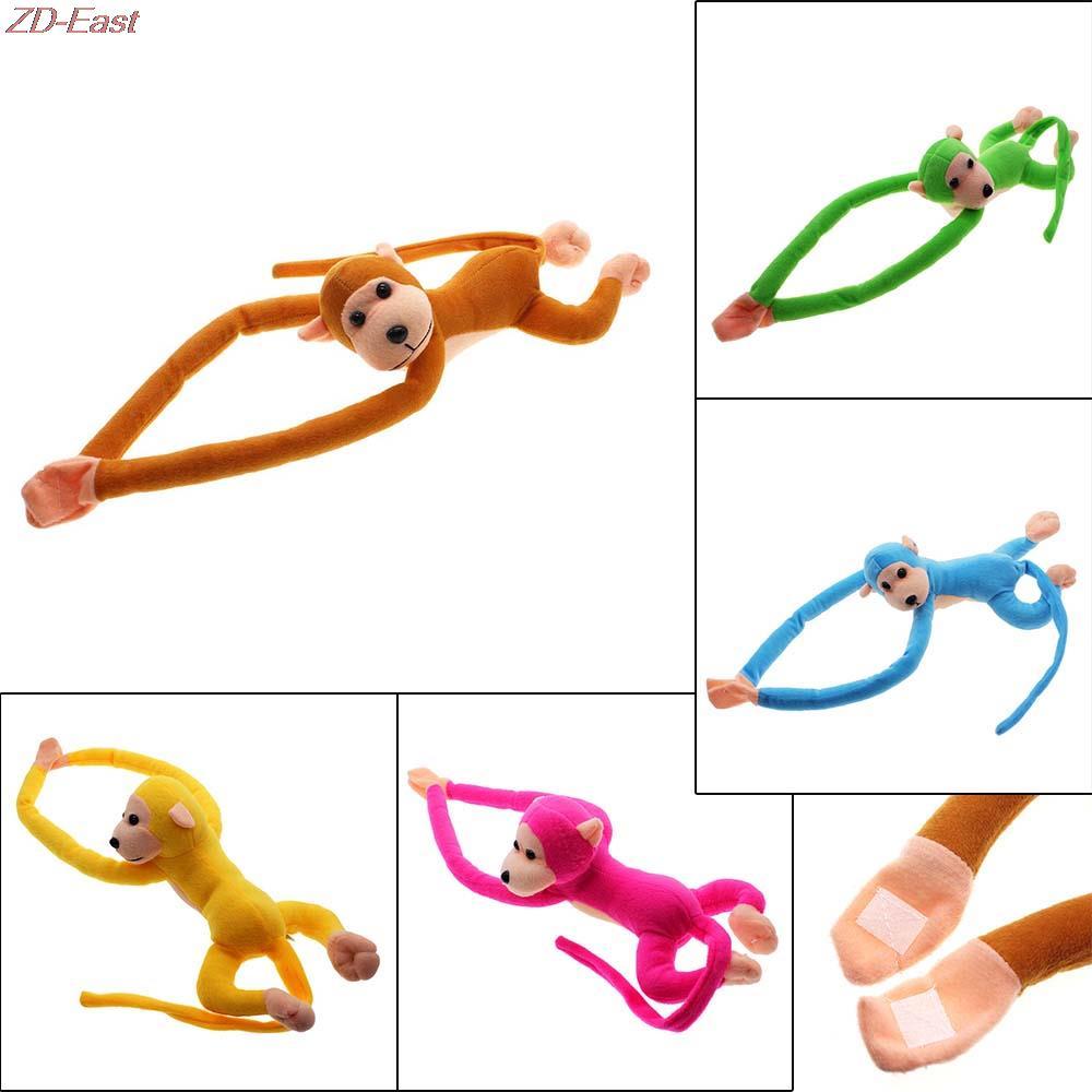 2016 New <font><b>Lovely</b></font> Curtains Baby Sleeping Appease Animal <font><b>Long</b></font> <font><b>Arm</b></font> Tail <font><b>Monkey</b></font> <font><b>Stuffed</b></font> <font><b>Doll</b></font> Plush Toys