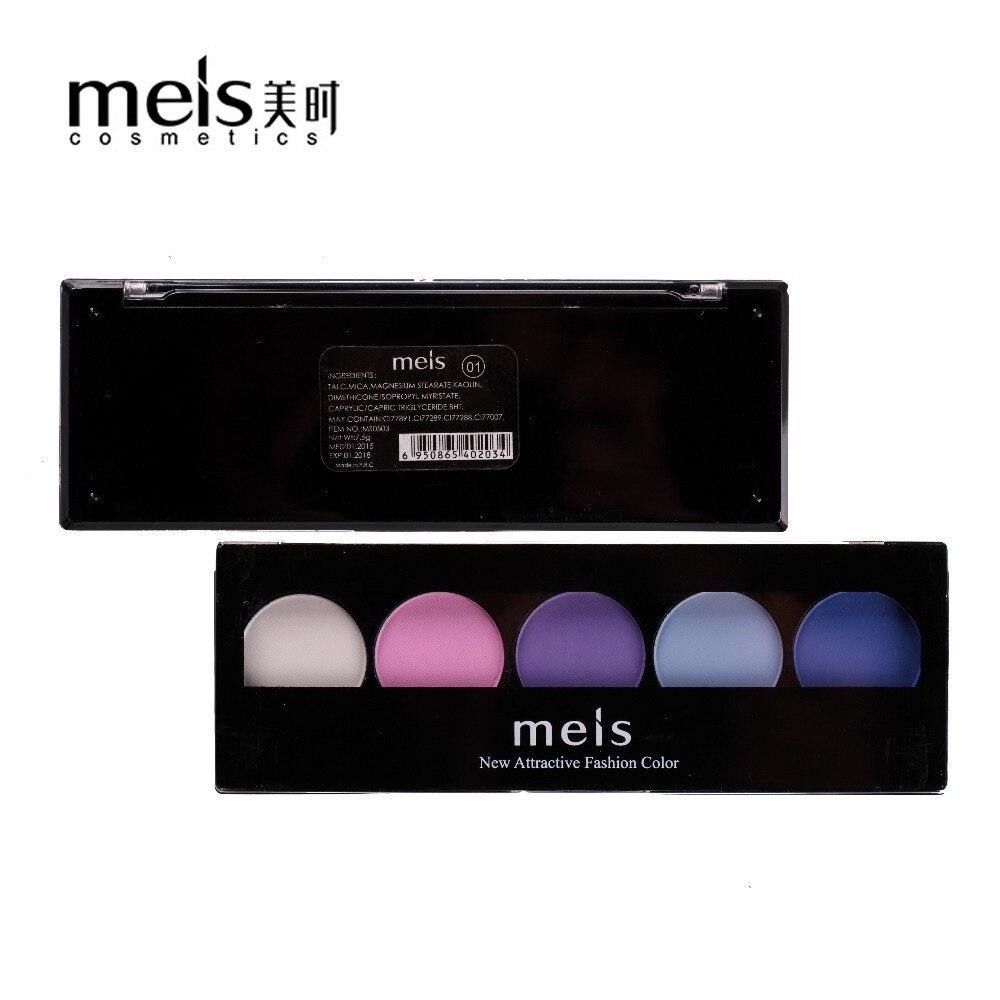 MEIS Marka šminka Kozmetika Profesionalna šminka 5 boja Sjenilo za - Šminka