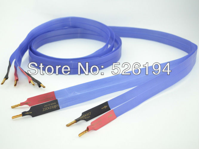 Free shipping 2.5Meter Nordost Blue Heaven LS Loudspeaker Cable Nordost speaker cable беспроводная акустика interstep sbs 150 funnybunny blue is ls sbs150blu 000b201
