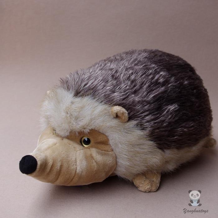 Plush Big Toy Djur Simulering Hedgehog Doll Söt Queen Stuffed Leksaker För Barn Julklapp Kudde Bra Kvalitet