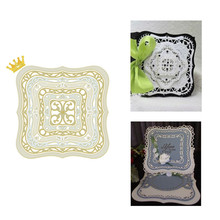 Buy YaMinSanNiO Square Dies Frame Metal Cutting Dies Scrapbooking for Card Making Decor Paper Album Photo New 2019 Dies Crafts directly from merchant!