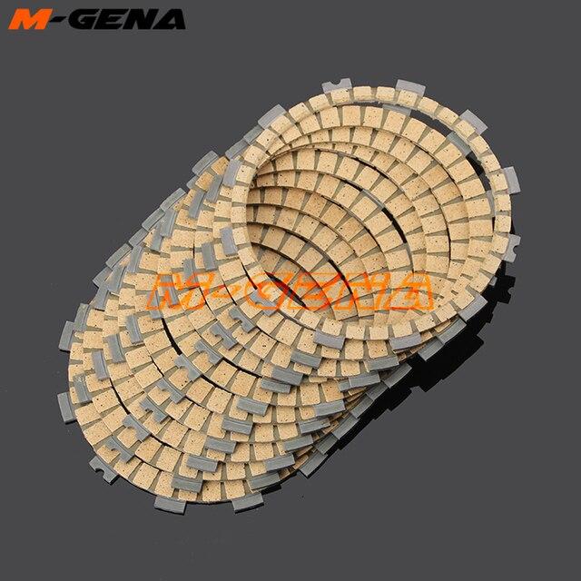 Embrague de la motocicleta placas de fricción disco 10 Uds para GSXR1000 GSXR 1000 K 5 2005-2008, 2006 de 2007 K5 K7