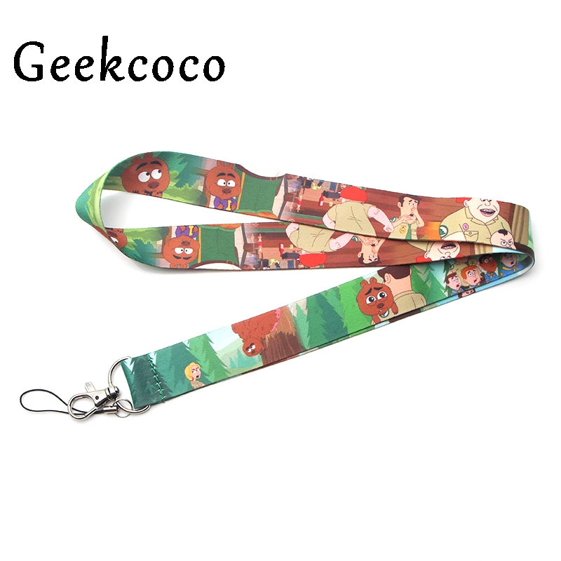 Brickleberry Keychain Accessories Safety Breakaway For Mobile Phone USB ID Holder Keys Straps Tags Neck  lanyard Camera J0200
