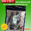 Frete Grátis + 100% original novo ATF 4-em-1 JTAG/EMMC/ISP/MMC Cartão Adaptador + Frete Grátis
