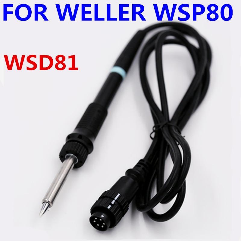 SZBFT 1pcs Free shipping WELLER soldering iron handle WSP80 pen WSD81 soldering station handle 24V 80W