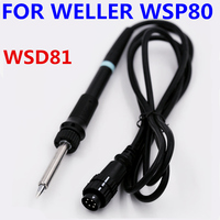 1pcs Free Shipping WELLER Soldering Iron Handle WSP80 Pen WSD81 Soldering Station Handle 24V 80W Soldering