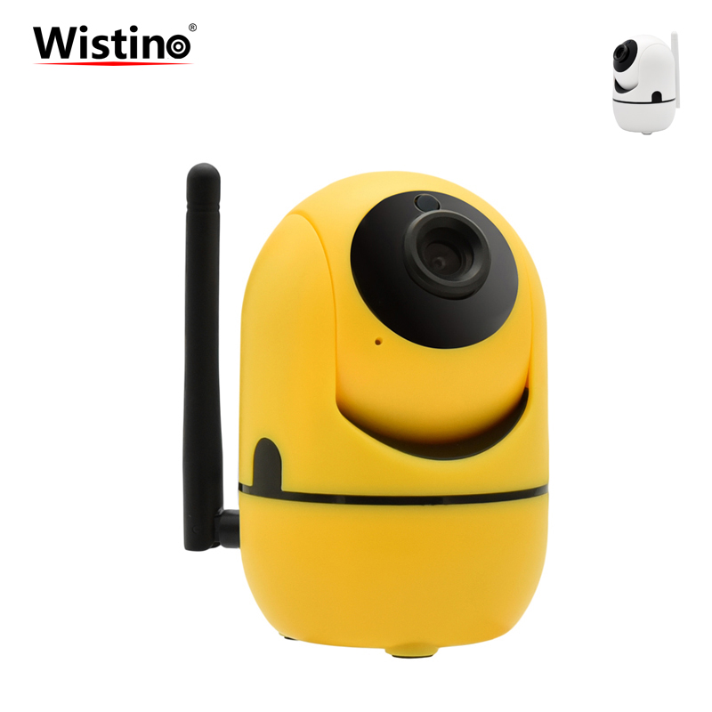 Wistino CCTV Wifi Camera 1MP Baby Monitor 720P Wireless IP Camera Surveillance System Smart Home Security Camera Night Vision dome camera housing abs plastic ip camera casing for cctv surveillance security camera outdoor use cover case self make wistino