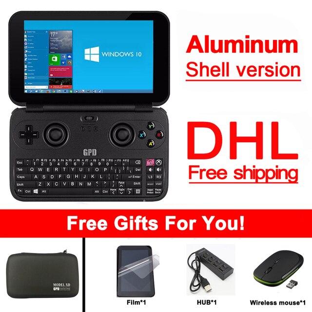 GPD Win Gamepad Tablet PC Handheld Game Console X7 Z8750 Windows Bluetooth 4.1 4GB/64GB Gamepad Game Player DHL free shipping