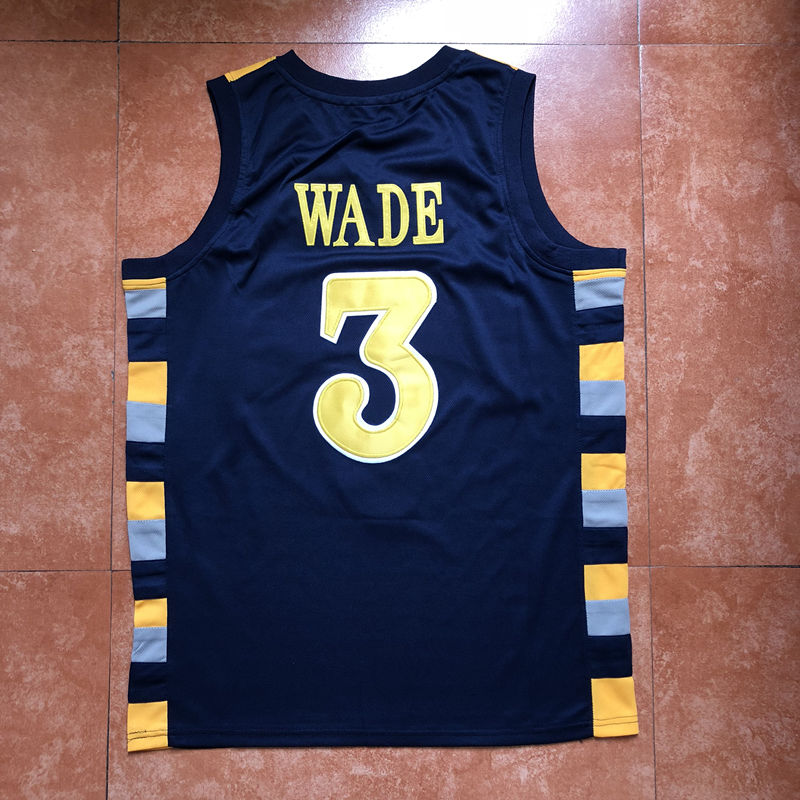 6253701afac 2019 New #3 Dwyane Wade Marquette Golden Eagles College Basketball Jersey  Stitched S XXL-in Basketball Jerseys from Sports & Entertainment on  Aliexpress.com ...