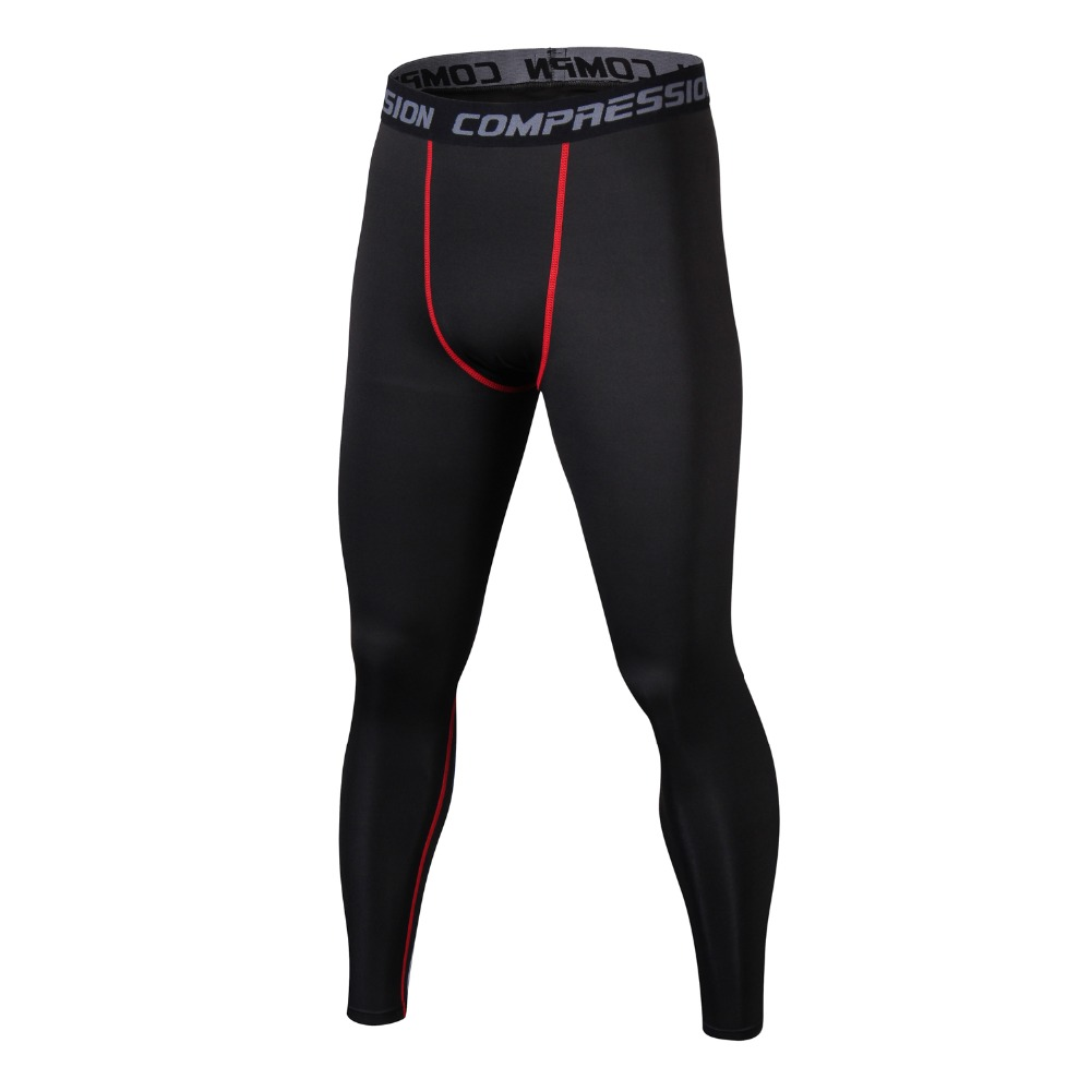 Men's Compression Tights Pants Underwear Base Layer Quick Dry Leggings Pant Trousers Fitness Sweatpants Jogger Pantalones