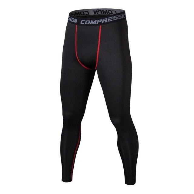 f2378a3d1c9 Men s Compression Tights Pants Underwear Base Layer Quick Dry Leggings Pant  Trousers Fitness Sweatpants Jogger Pantalones
