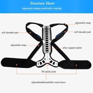 Image 5 - Corrector de postura para hombre y mujer, soporte cómodo para espalda y hombros, dispositivo médico para mejorar la mala postura, 1 Uds.