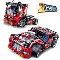 Decool technic ciudad serie 2 modelo de camión de carreras de coches modelo de bloques de construcción ladrillos niños juguetes marvel compatible legoe