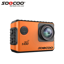 SOOCOO S100 4K Sport Sports Camera 4K Wifi Built-in Gyro with GPS Extension(GPS Model not include) Action Cam