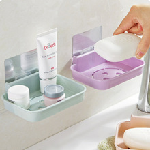 Soap Box Dish Case Container Soap Tray Holder Storage Soap Rack Plate Box Container for Bath Shower Plate Bathroom soap holder bathroom shower soap box dish storage plate tray holder case soap holder high quality housekeeping container organizers