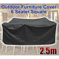 Shellhard Square 6 Seater Table Cloth Cover Home Decorative Furniture Cover Waterproof Outdoor Furniture Cover 2