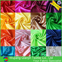 New Arrival 700 Colors Cheap Polyester Shiny Silk Satin Fabric