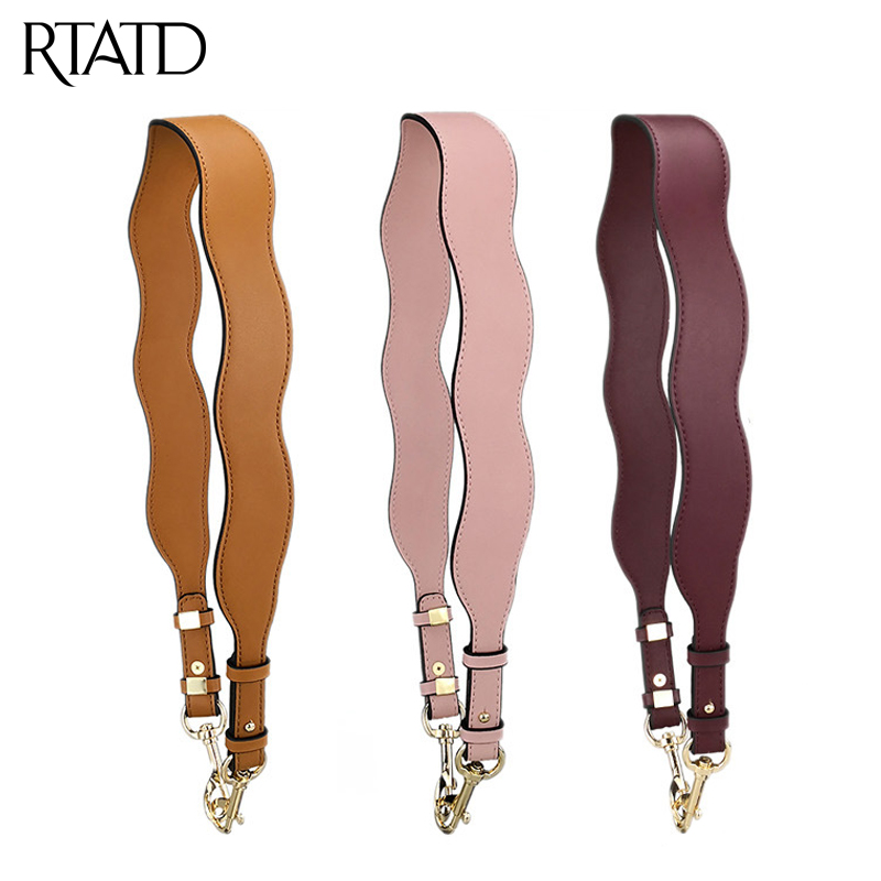 New Leather Bag Strap For Women Shoulder Strap Easy Matching Bags Accessories