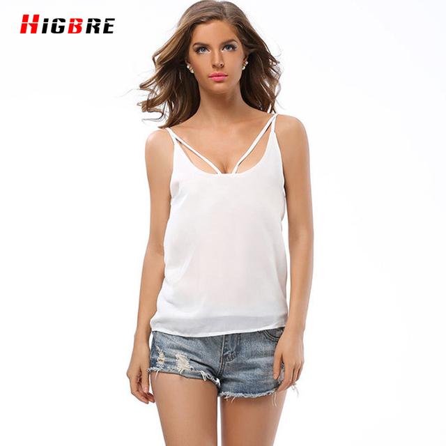 Colete oco Mulheres Verão Senhora Sem Mangas Camisola Básica Novo Sexy Strapless Chiffon Colete Camis Tops Shirt Cropped Feminino Curto