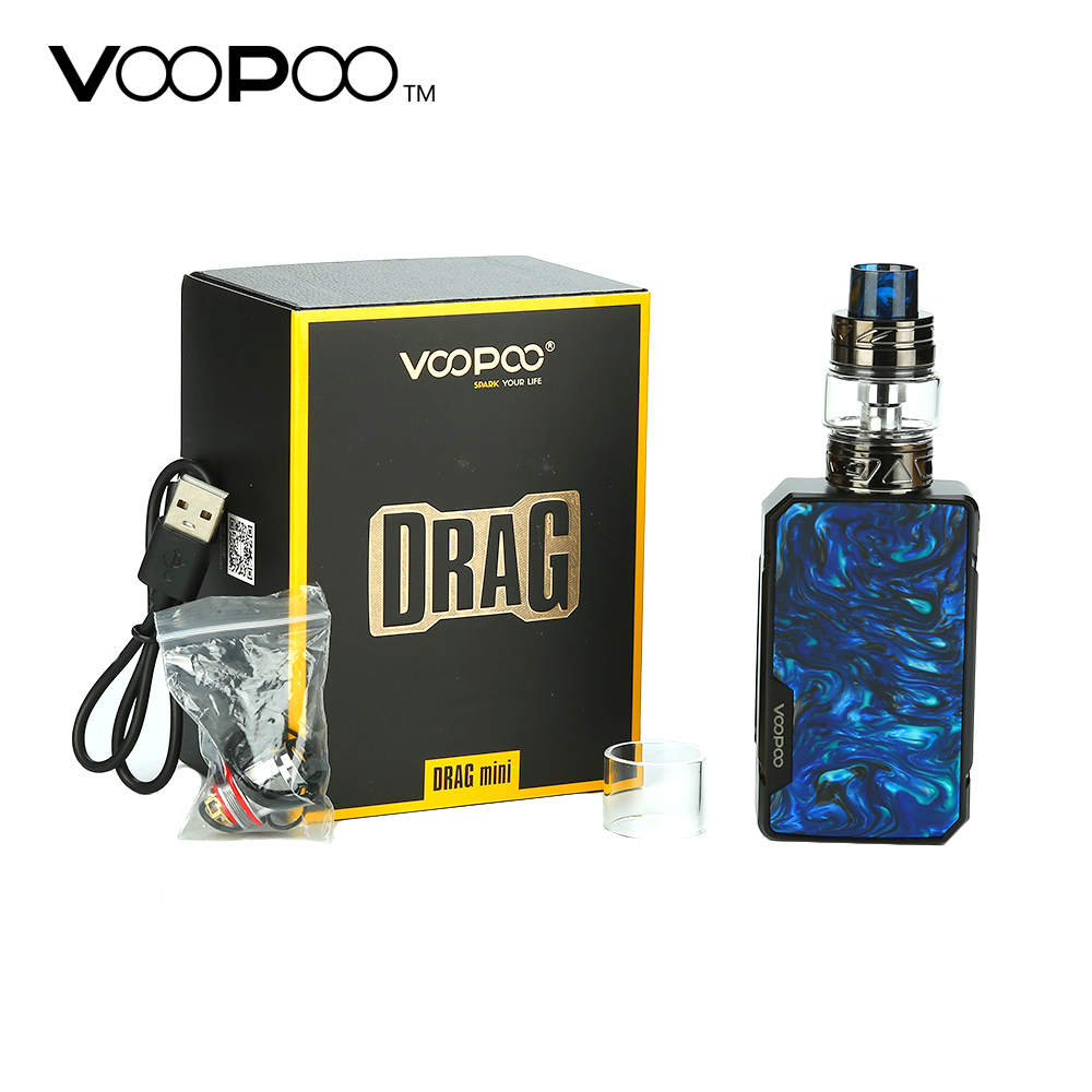 Original VOOPOO Drag Mini TC Kit 4400mAh with Drag 2 Mod Battery 5ml 2ml UFORCE T2