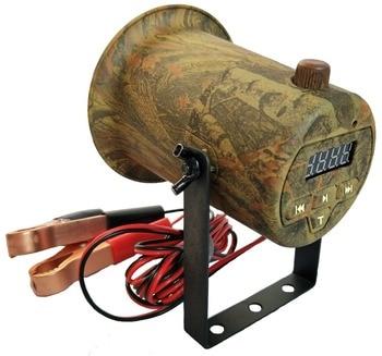 PDDHKK 50W 150dB Wildlife Loud Speaker Bird Caller Hunting Decoy with Camouflage color 200 Bird Voice Amplifier Timer ON/OFF