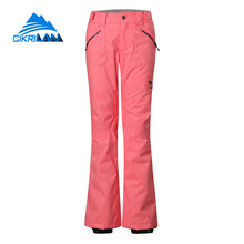 Water Resistant Windbreaker Winter Snow Sports Outdoor Snowboard Ski Hiking Pants Women Camping Climbing Warm Pantalones Mujer