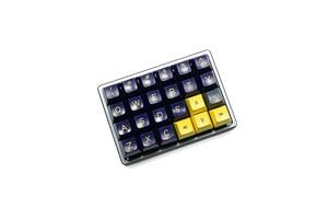 Image 2 - Anodized Aluminium case for cospad xd24 custom keyboard  dual purpose case with CNC Aluminum Cone Feet