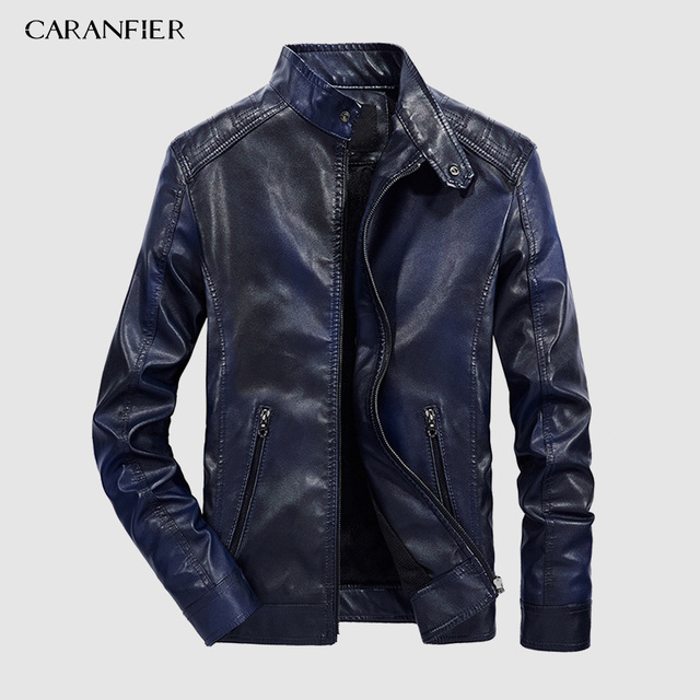 Faux Leather Jacket 2