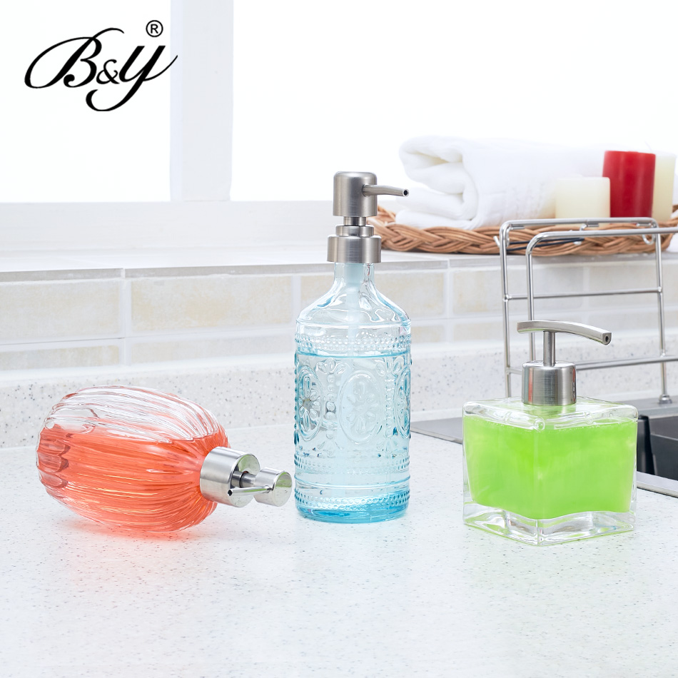 Online get cheap glass bath accessories for Bathroom bottles