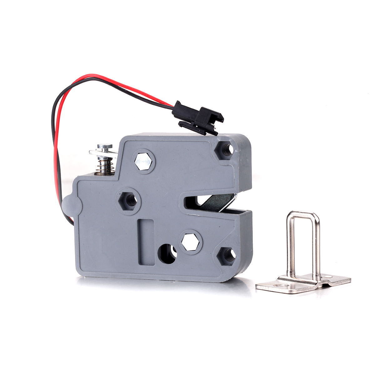 Energetic 2019 New Dc 12v 0.5a Mini Electric Magnetic Cabinet Bolt Push-pull Lock Release Assembly Solenoid Access Control To Enjoy High Reputation In The International Market Security & Protection Electric Lock