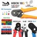 HSC8 6-4B 6-4A ミニクランプ圧着プライヤー 0.25-6mm2 端子圧着ツール multitools 手四角形針端子