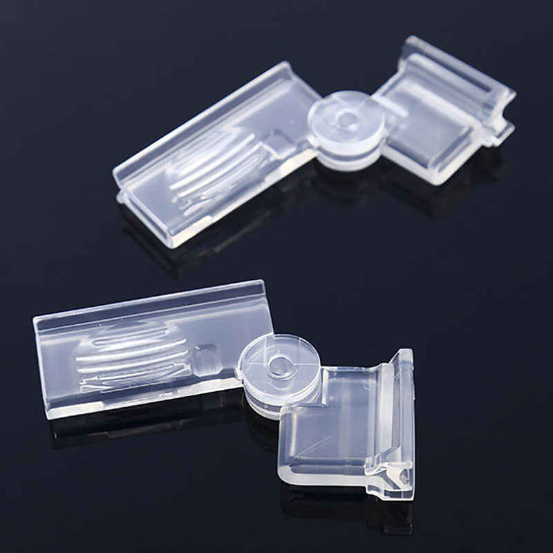 New 2Pcs Milk Seal Clips Multifunctional Snacks Sealed Clips Keeping Food Fresh Sealed Box Folder Carton Packed Sealing Clip