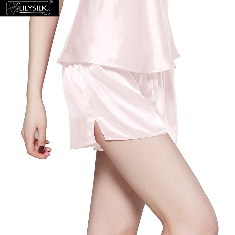 1be418f0f5 Detail Feedback Questions about LilySilk Pants Sleep Shorts Women Natural  Silk Pure 100 Pajamas Bottoms Home Luxury Ladies Nightwear 22 momme Free  Shipping ...