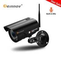 Einnov Audio Record Onvif 720P Wifi IP Camara 1080P Drahtlose Sicherheit Überwachung Camara HD P2P CCTV Mit SD karte 3,6mm Camhi