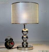 Личности блестящие настольные лампы специальные k9 кристалл Настольные лампы современные лампы e27 светодиодная лампа подарок модные просты