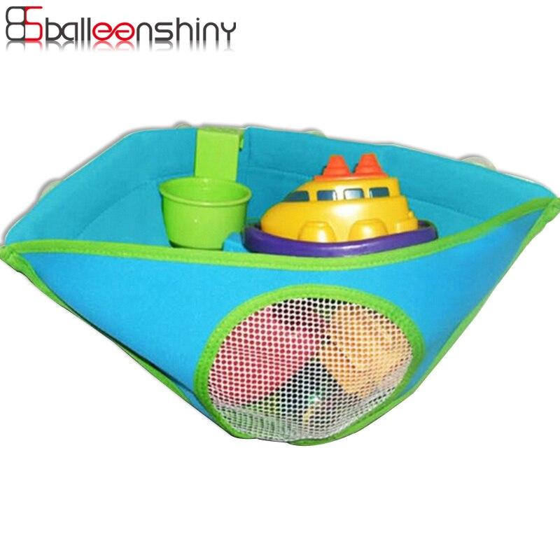 BalleenShiny Baby Bath Toy Storage Bag Bathroom Mesh Bag Net Suction Cup  Baskets Home Hanging Organizer