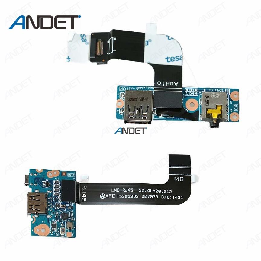 New Lan Port Board SUB  J45  Card  For Lenovo Thinkpad  T440p 04X5392 NS-A132