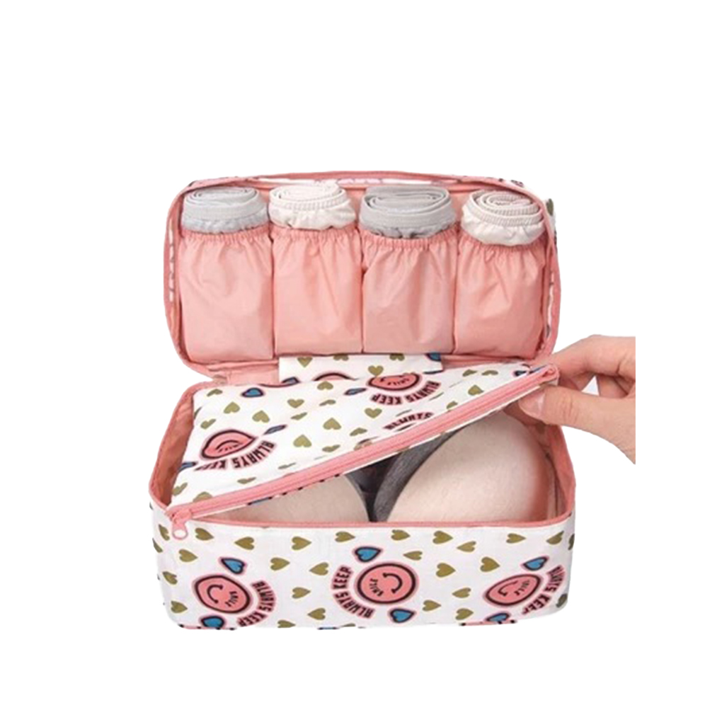 Plus Size Travel Drawer Dividers Closet Organizers Bra Underwear Storage Bag Container Case Pocket Women Gril