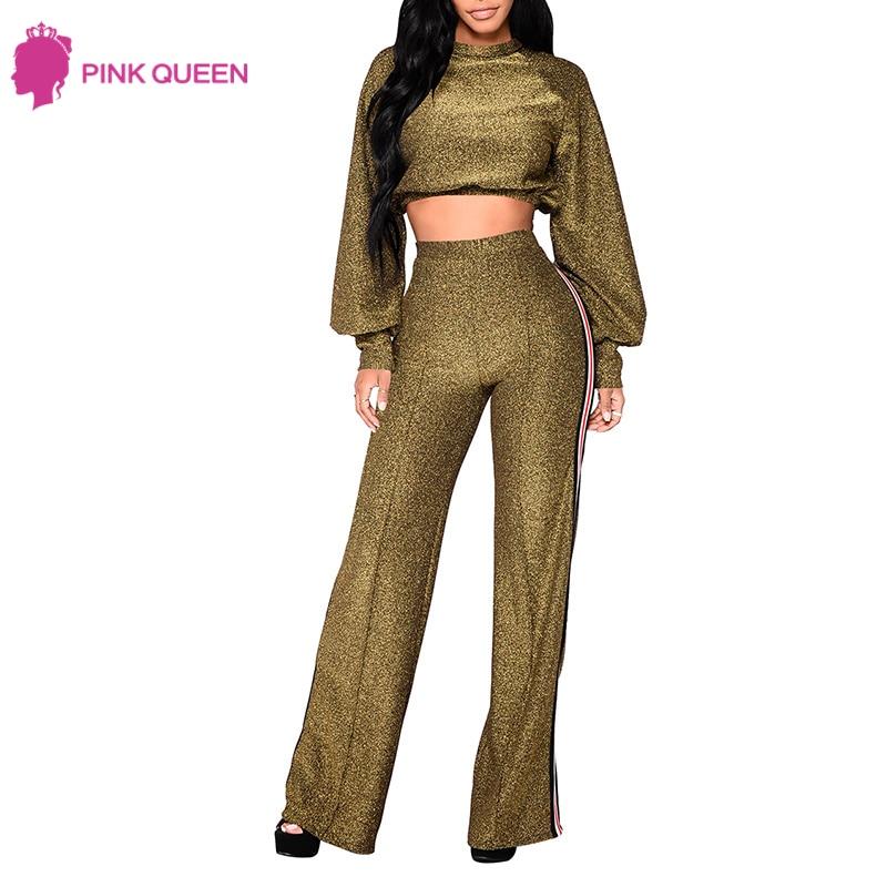 Pink Queen Outfit Kvinnor Abbigliamento Donna 2 Piece Set Kvinnor - Damkläder - Foto 3