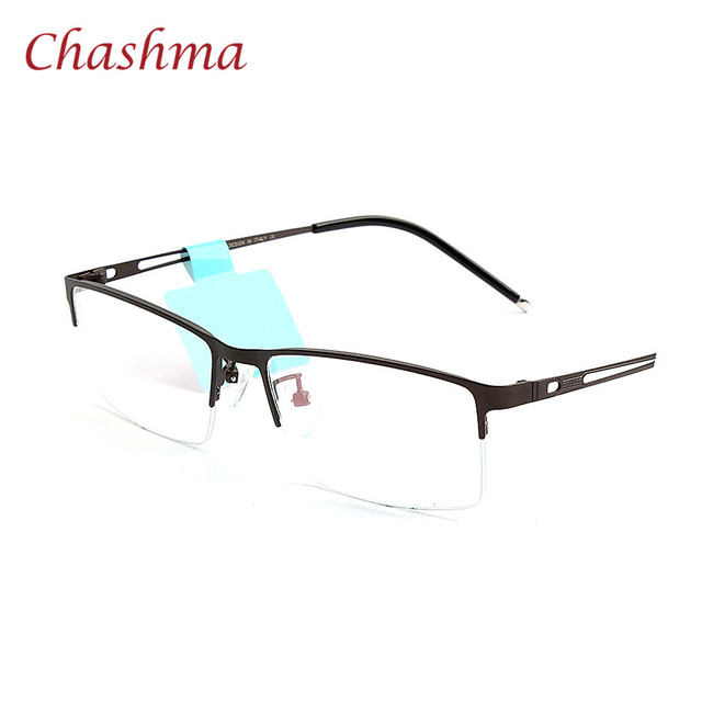 Chashma Brand Alloy Classic Design Eyeglasses Frame Men High Quality ...
