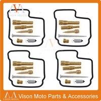 4 Sets Motorcycle Parts Carburetor Repair Jet Accessories Motor Bicycle Carburetor For Honda CBR250 CBR 250