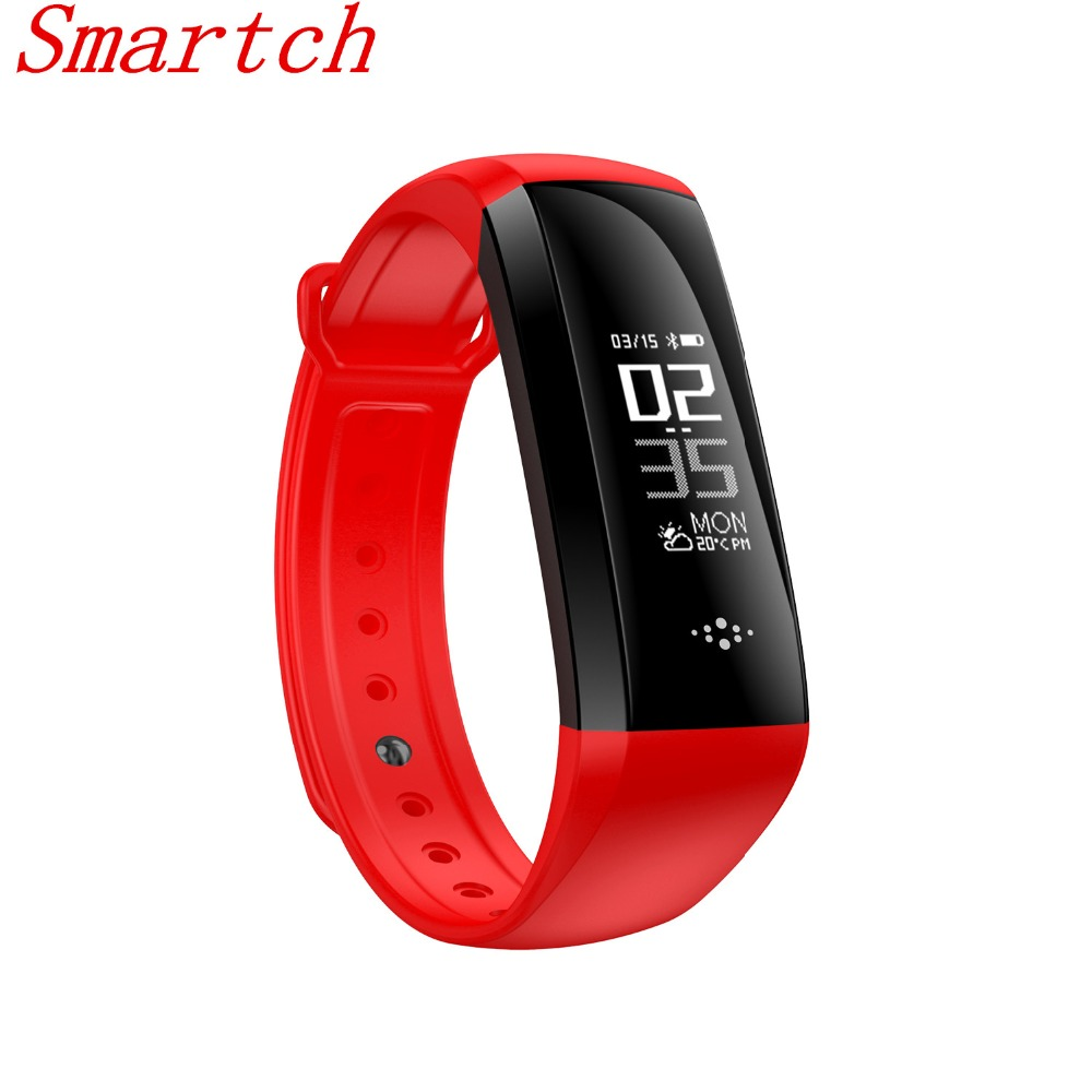Smartch bluetooth Smart Band M2S OLED display wristband Heart Rate Monitor Smartband Health Fitness Tracker bracelet