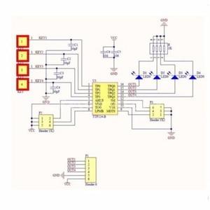 Image 2 - LEORY 12V 4CH kanal 433Mhz kablosuz uzaktan kumanda anahtarı entegre devre 2 verici ile DIY parçaları değiştirin alet setleri