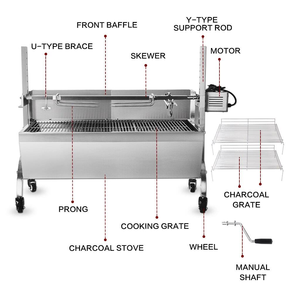 Grille de Barbecue électrique multifonction ITOP et grilles électriques grille de Barbecue commerciale - 4