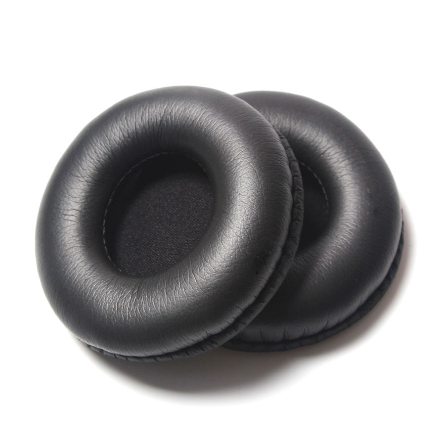 2Pcs/Set 65mm Black Replacement Ear Pads Headphones Pads Foam Sponge Cover Repair Ear Pads For Headphone ATH-SJ1 ATH-200AV new standard replacement earpad ear pads soft foam sponge pro for sennheiser hd202 pro hd497 eh150 warm care headphones