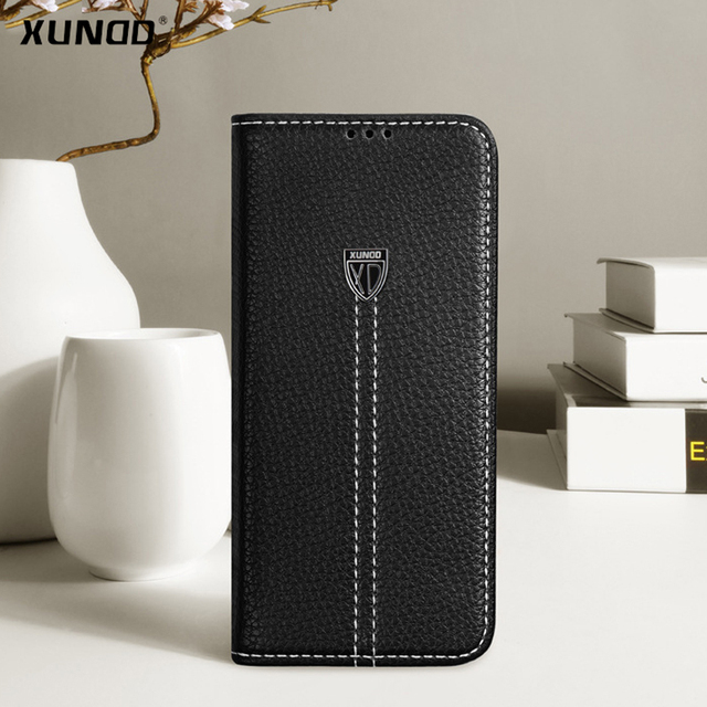 finest selection 2363d 5fb36 US $15.7 |For Samsung Galaxy S9 S9 plus phone Case XUNDD Luxury Leather  Magnetic Flip Wallet case For galaxy s9+ with Kickstand-in Wallet Cases  from ...