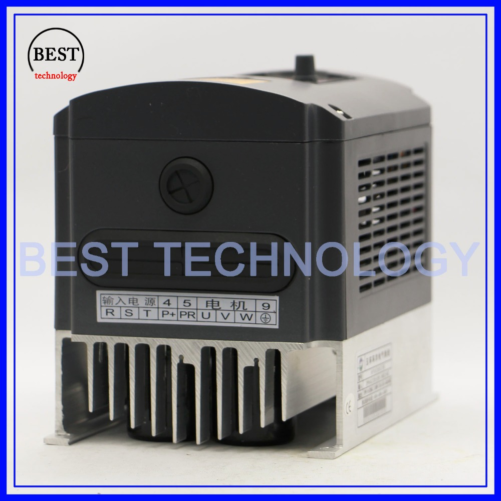 Image 4 - 220v 3.0kw  VFD Variable Frequency Drive  Inverter / VFD 1HP or 3HP Input 3HP Output CNC Driver CNC Spindle motor Speed controlinverter importerproduction stripinverter model -